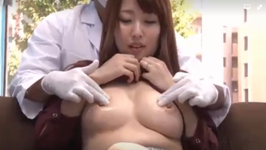 レストラン経営の美人妻、マジックミラー号で乳首に催淫剤で乳首イキ